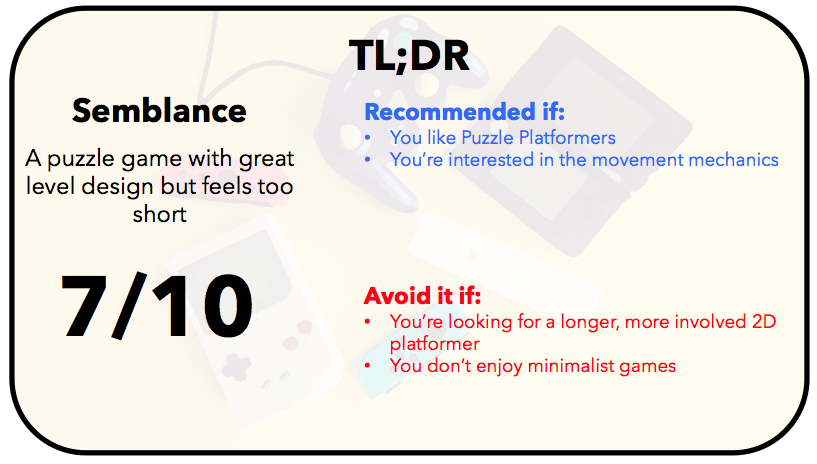 Semblance TLDR