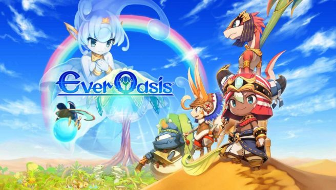 Ever Oasis Title